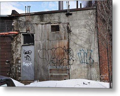 Pitt Street Wall Metal Print by Reb Frost