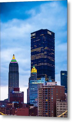 Pittsburgh - 7012 Metal Print