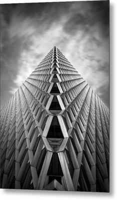 Pittsburgh Architecture  3bw Metal Print by Emmanuel Panagiotakis