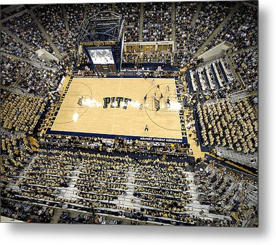 Pittsburgh Panthers Petersen Events Center Metal Print by Replay Photos