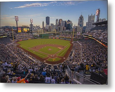 Pittsburgh Pirates Pnc Park X6 Metal Print