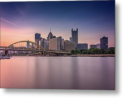 Pittsburgh Metal Print by Rick Berk
