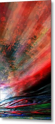 Pittura Digital Ghibill25e Metal Print by Sheila Mcdonald