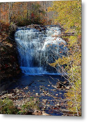Metal Print featuring the photograph Pixley Falls State Park by Diane E Berry