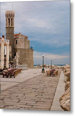 Place By The Sea Metal Print by Rae Tucker