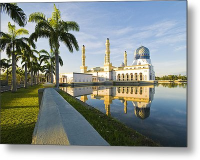 Place Of Worship Metal Print by Ng Hock How