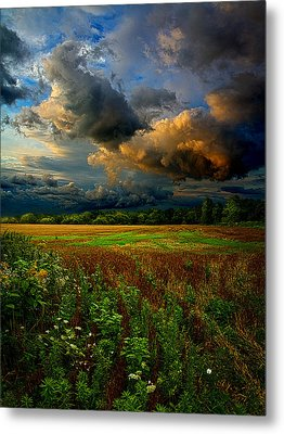 Places In The Heart Metal Print by Phil Koch