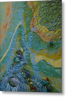 Placid Pile-up Metal Print by Ron Smothers