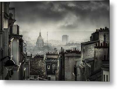 Plague Metal Print by La Taverne Aux