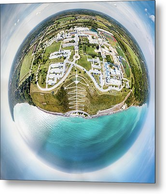 Metal Print featuring the photograph Planet Concordia by Randy Scherkenbach