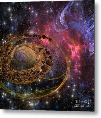 Planet Formation Metal Print