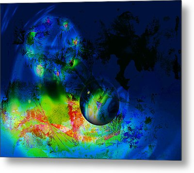 Planets Metal Print by Contemporary Art