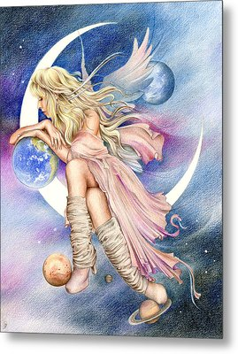 Planets Of The Universe Metal Print by Johanna Pieterman