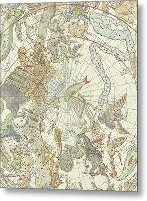 Planisphaerii Coelestis Hemisphaerium Meridionale Metal Print