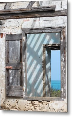 Plantation Quarters Metal Print