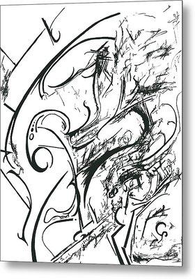 Plasmogamy015 Metal Print by TripsInInk