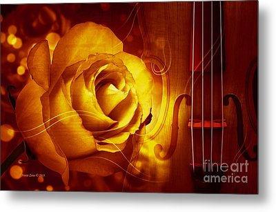 Play A Love Song Metal Print