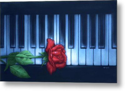 Play It Again Sam Metal Print
