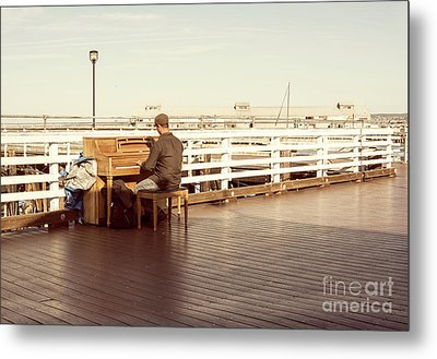 Play Me, I'm Yours Metal Print