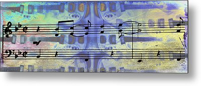 Play That Rock And Roll Metal Print by Bill Cannon