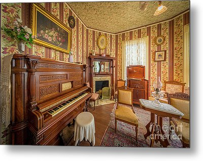 Player Piano Metal Print by Inge Johnsson
