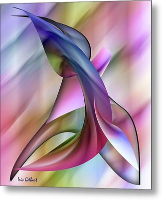 Playful Abstract  Metal Print
