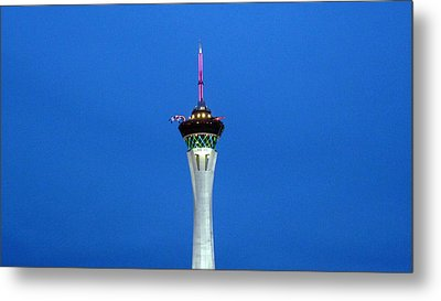 Playhouse In The Sky Metal Print