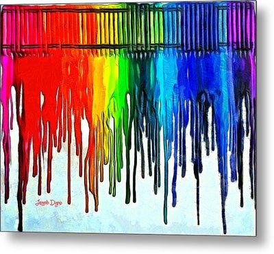 Playing With Colors Metal Print by Leonardo Digenio
