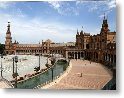 Metal Print featuring the photograph Plaza De Espana 4 by Andrew Fare