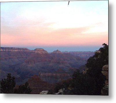 Pleasant Evening At The Canyon Metal Print by Adam Cornelison