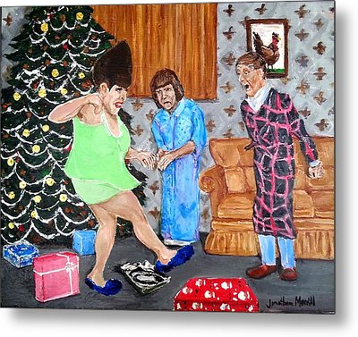 Please Dawn Not On Christmas Metal Print