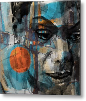 Metal Print featuring the mixed media Please Don't Let Me Be Misunderstood by Paul Lovering
