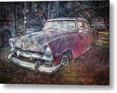 Metal Print featuring the photograph Plymouth Belvedere by Debra and Dave Vanderlaan