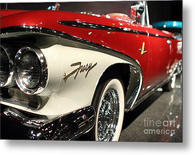 Plymouth Fury Metal Print by Wingsdomain TransportationArt