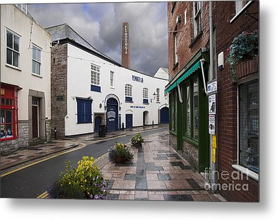 Plymouth Gin Distillery Metal Print by Donald Davis