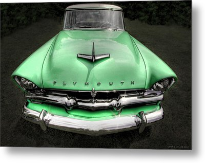 Plymouth Metal Print by Jerry Golab