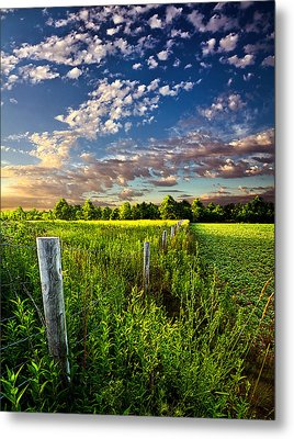 Poems Prayers And Promises Metal Print by Phil Koch