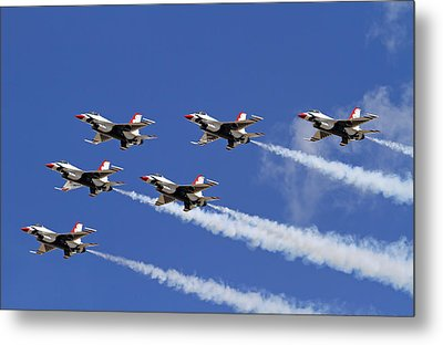 Poetry In The Sky Metal Print by Donna Kennedy