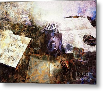 Poets In Picardy Metal Print by Claire Bull