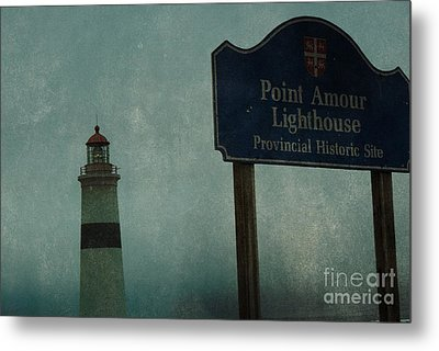 Point Amour Lighthouse, Newfoundland And Labrador, Canada Metal Print by Eye Travel