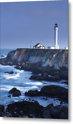 Point Arena Metal Print by Eric Foltz
