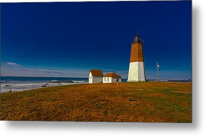 Point Judith Lighthouse Metal Print