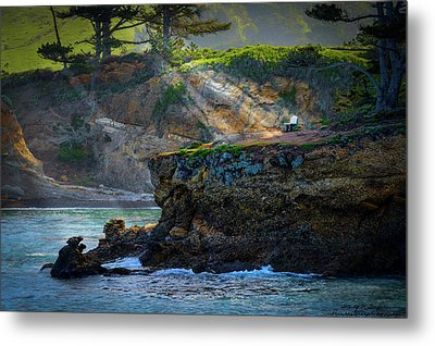 Point Lobos, Calif. A Missed Opportunity Metal Print