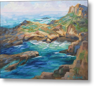 Point Lobos Cove Metal Print