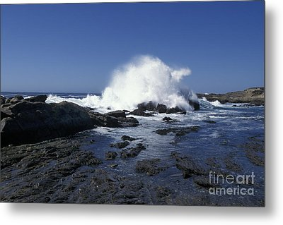 Metal Print featuring the photograph Point Lobos Seascape 2 by Stan and Anne Foster