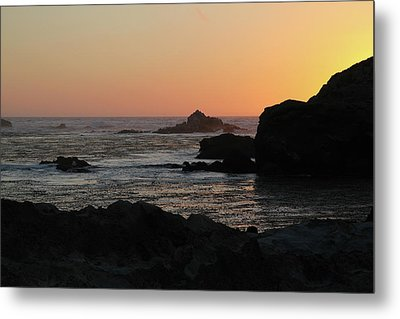 Metal Print featuring the photograph Point Lobos Sunset by David Chandler