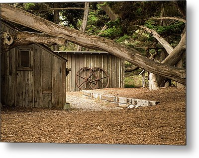 Point Lobos Whaler's Cabin Metal Print