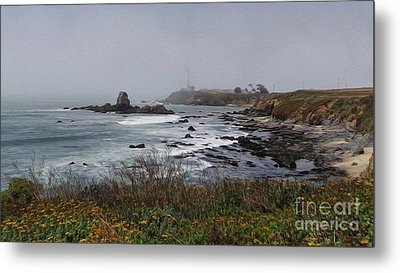 Metal Print featuring the photograph Point Montara Lighthouse by David Bearden