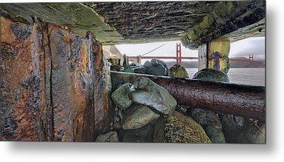 Metal Print featuring the photograph Point Of View by Steve Siri