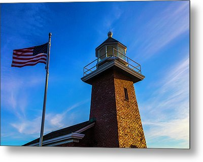 Point Pinos Lighthouse Metal Print by Garry Gay